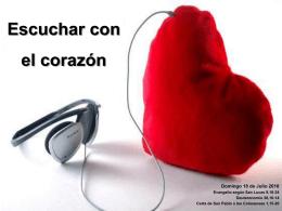 Escuchar con el Corazón