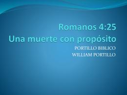 Romanos 4:25 Una muerte con propósito