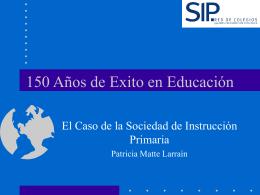 150 Años de Experiencia en Educación