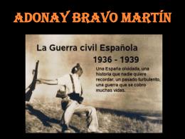Adonay Bravo Martín - IES Agustín de Betancourt