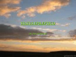 STATUS EPILEPTICO - Universidad de Concepción