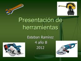 Presentación de herramientas