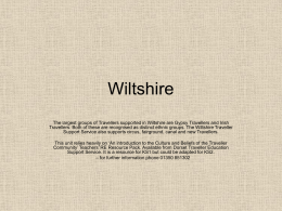 2007 RE- Wiltshire KS1-2 Map 2 Year 6 Autumn 1-