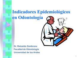 Indices Epidemiológicos En Odontología