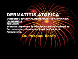 DERMATITIS ATOPICA CONSENSO NACIONAL DE DERMATITIS