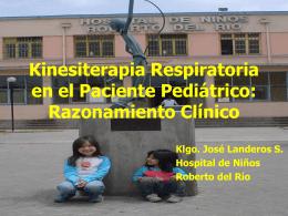 Kinesiterapia Respiratoria en el Paciente