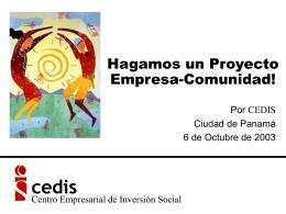"""Programa """"Construcción de Modelos para el Fomento"""