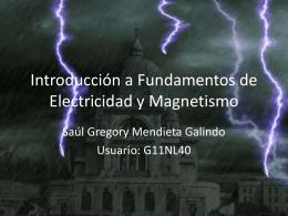 Introducción a los Fundamentos de Electricidad y