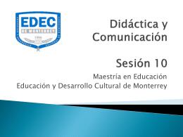 Didáctica y Comunicación