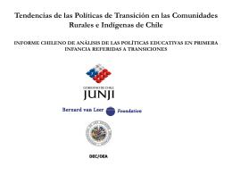 Los inicios de las políticas chilenas en educación