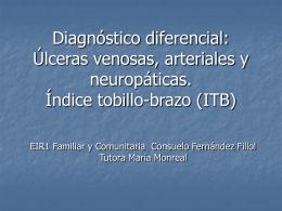 Diagnóstico diferencial y tratamiento úlceras