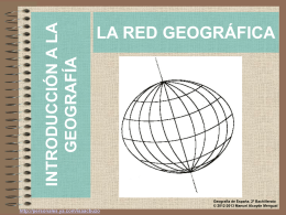 LA RED GEOGRÁFICA