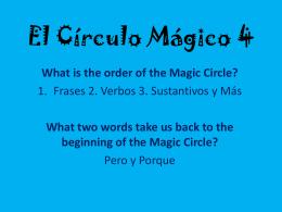 El Círculo Mágico 4