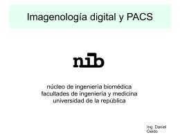 Imagenología digital y PACS