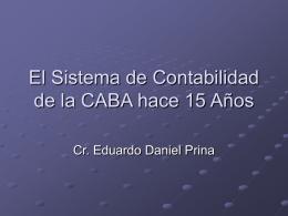 El Sistema de Control Interno en la CABA hace 15