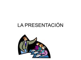 LA PRESENTACIÓN - Rossana Migliónico | Literatura