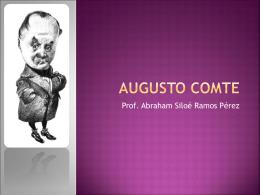 Augusto Comte - Filosofía para Bachillerato | Blog