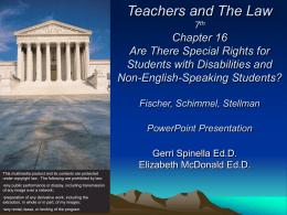 EDL 502 School Law