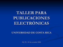 Edición de Revistas Electrónicas