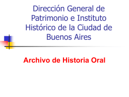 Dirección General de Patrimonio e Instituto