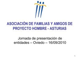 ASOCIACIÓN DE FAMILIAS Y AMIGOS DE PROYECTO HOMBRE