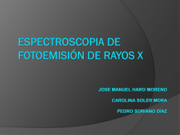 Espectroscopia Fotoelectrónica de rayos X