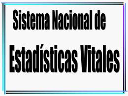HECHOS VITALES - Instituto Nacional de