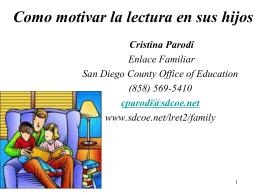 Desarrollo de la lectura en español