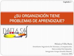Capitulo 2 ¿SU ORGANIZACIÓN TIENE PROBLEMAS DE