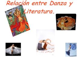 Relación entre Danza y Literatura.