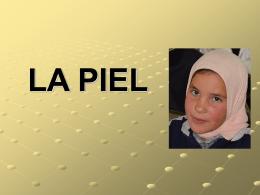 LA PIEL - DCPM - Desarrollo y Consultoría Pro