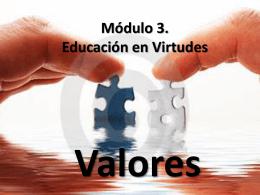 Módulo 3. Educación en Virtudes
