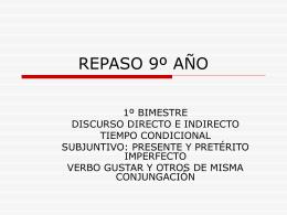 REPASO 9º AÑO