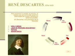 RENÉ DESCARTES - IES Victorio Macho