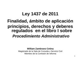 Comisión de reforma a la Jurisdicción Contencioso