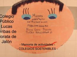 Colegio Público Lucas Arribas de Morata de Jalón