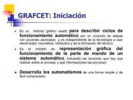 GRAFCET: Iniciación