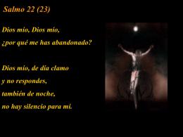 Salmo 22 (23) - Capilla De Oración Católica