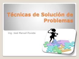 Técnicas de Solución de Problemas