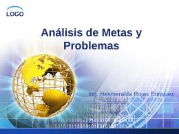 Análisis de Metas y Problemas