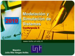 Modelación y Simulación de Sistemas