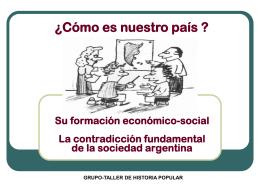 UBICACIÓN DE LA ARGENTINA TIPO DE PAIS