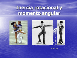 Inercia rotacional y momento angular