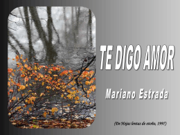 Mar:tedigoamor - REVISTA DIGITAL DE INFORMACIÓN -