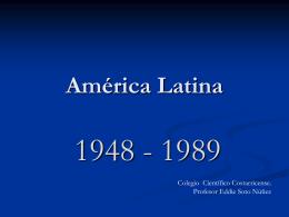 América latina y Caribe durante la Guerra Fría