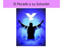 El Pecado y su Solución