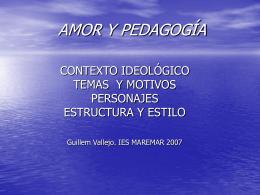 AMOR Y PEDAGOGÍA - Material didáctico Guillem |
