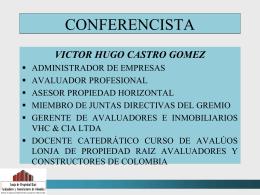 AVALUOS URBANOS - certificación de personas, ONAC