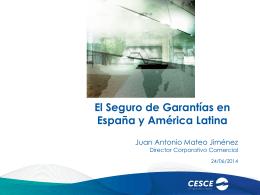 1. El Seguro de Garantías en España