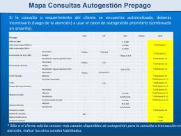 Mapa de Consulta Autogestión Prepago
